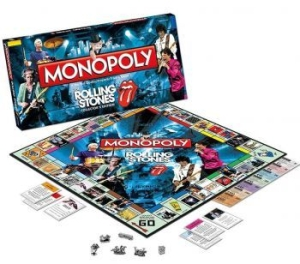 Rolling Stones - The Rolling Stones Monopoly in the group Minishops / Rolling Stones at Bengans Skivbutik AB (3304203)
