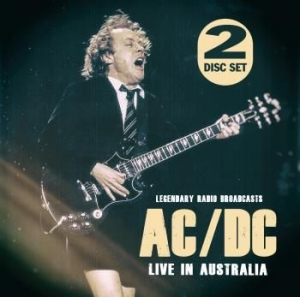 AC/DC - Live In Australia (Fm) in the group Minishops / AC/DC at Bengans Skivbutik AB (3314203)