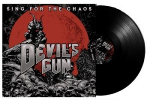 Devils Gun - Sing For The Chaos - Lp in the group VINYL / Upcoming releases / Hardrock/ Heavy metal at Bengans Skivbutik AB (3330401)