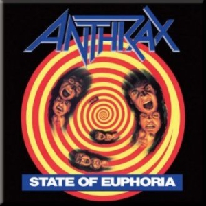 Anthrax - ANTHRAX FRIDGE MAGNET: STATE OF EUPHORIA in the group OTHER / Merch Magnets at Bengans Skivbutik AB (3368158)