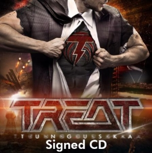 Treat - Tunguska (Signed CD) in the group CD / Upcoming releases / Hardrock/ Heavy metal at Bengans Skivbutik AB (3402767)