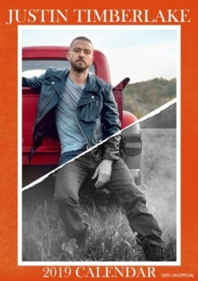 Justin Timberlake - Calendar 2019 - Justin Timberlake in the group OTHER / Merch Calenders at Bengans Skivbutik AB (3407031)