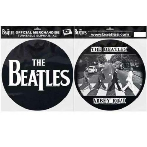 Beatles - Slipmat - Beatles Abbey Road Silhouette in the group OTHER / Merch Slipmats at Bengans Skivbutik AB (3407066)