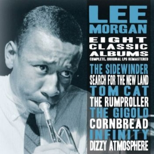 Morgan Lee - Eight Classic Albums Collection The in the group CD / CD Jazz at Bengans Skivbutik AB (3460649)