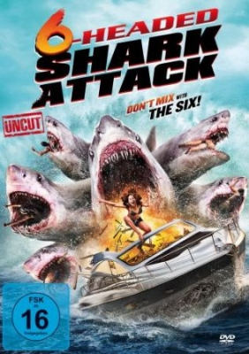 6-Headed Shark Attack (Uncut) - 6-Headed Shark Attack (Uncut) in the group OTHER / Music-DVD & Bluray at Bengans Skivbutik AB (3464119)