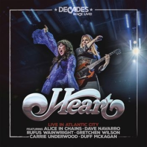 Heart - Live In Atlantic City in the group OTHER at Bengans Skivbutik AB (3466075)