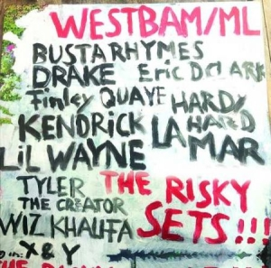 Westbam Ml - Risky Sets in the group VINYL / Dans/Techno at Bengans Skivbutik AB (3466488)