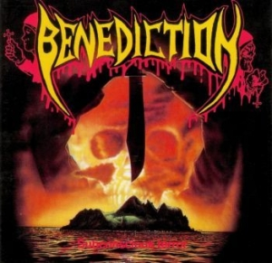 Benediction - Subconscious Terror (Red Vinyl) in the group VINYL / Upcoming releases / Hardrock/ Heavy metal at Bengans Skivbutik AB (3471944)