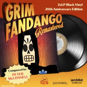 Mcconnell Peter - Grim Fandango - 20Th Ann.Remastered in the group VINYL / Upcoming releases / Soundtrack/Musical at Bengans Skivbutik AB (3478217)
