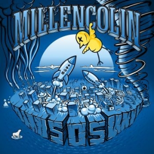 Millencolin - Sos (Blue Vinyl) in the group VINYL / Vinyl Punk at Bengans Skivbutik AB (3485987)