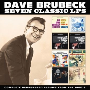 Brubeck Dave - Seven Classic Lps (4 Cd) in the group CD / CD Jazz at Bengans Skivbutik AB (3489039)