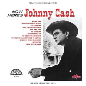 Cash Johnny - Now Here's Jhonny Cash in the group VINYL / Upcoming releases / Country at Bengans Skivbutik AB (3492228)