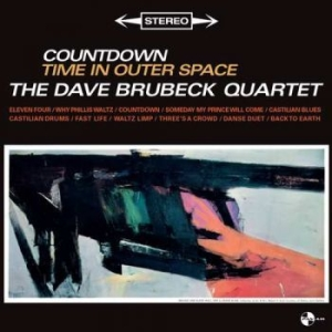 Brubeck Quartet Dave - Countdown Time In Outer Space in the group VINYL / Jazz/Blues at Bengans Skivbutik AB (3495358)