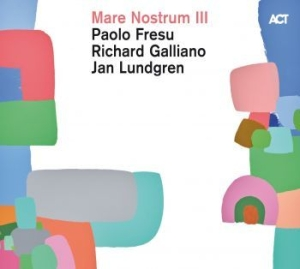 Jan Lundgren, Paolo Fresu, Richard - Mare Nostrum Iii in the group CD / CD Jazz at Bengans Skivbutik AB (3496595)