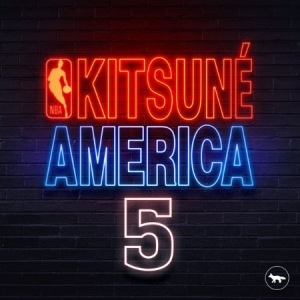 Blandade Artister - Kitsune America 5Nba Limited Editi in the group Campaigns / Weekly Releases / Week 12 / VINYL W.12 / ELECTRONIC at Bengans Skivbutik AB (3505425)