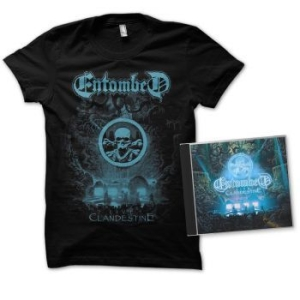 Entombed - Clandestine - Live (Cd+Tst) - M in the group Minishops / Entombed at Bengans Skivbutik AB (3522724)