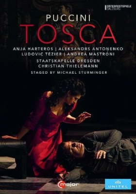 Puccini, Giacomo - Tosca (Blu-Ray) in the group Campaigns / Weekly Releases / Week 9 / MUSIC DVD Week 9 at Bengans Skivbutik AB (3524467)