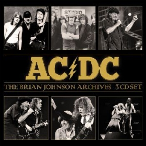 AC/DC - Brian Johnson Archives The (3 Cd) in the group Campaigns / Weekly Releases / Week 13 / CD Week 13 / METAL at Bengans Skivbutik AB (3531163)