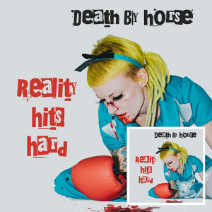 Death By Horse - Reality Hits Hard (Gatefold/+Downlo in the group VINYL / New releases / Rock at Bengans Skivbutik AB (3533125)