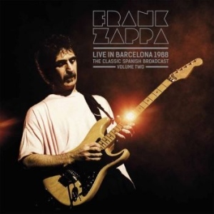 Frank Zappa - Live In Barcelona 1988 Vol. 2 in the group VINYL / Rock at Bengans Skivbutik AB (3542053)