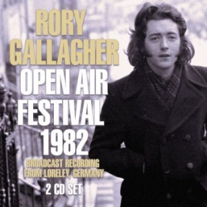Gallagher Rory - Open Air Festival 1982 (2 Cd Broadc in the group CD / Pop at Bengans Skivbutik AB (3557946)