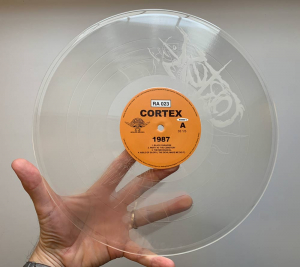 Cortex - 1987 Clear Vinyl Bengans Edition Numbered 300 in the group VINYL / New releases / Pop at Bengans Skivbutik AB (3563772)