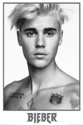 Justin Bieber - Bieber Black and White Maxi Poster in the group Campaigns / Posters at Bengans Skivbutik AB (3573024)