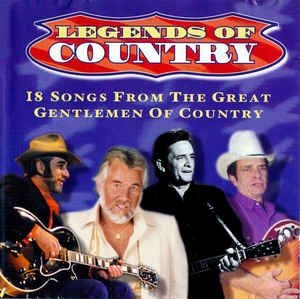 Various artists - Legends Of Country: 18 Songs From The Great Gentlemen Of Country in the group CD / Worldmusic/ Folkmusik at Bengans Skivbutik AB (3576850)