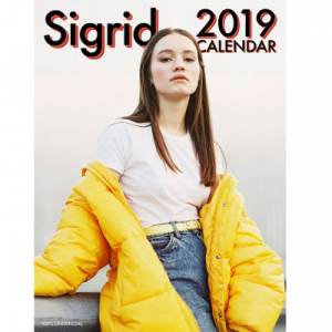 Sigrid - 2019 Calender in the group Minishops / Sigrid at Bengans Skivbutik AB (3586661)