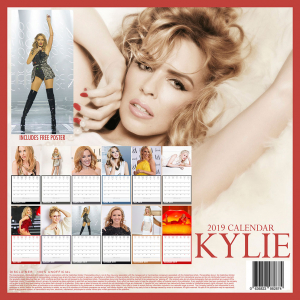 Kylie Minogue - 2019 Calender in the group OTHER / Merch Popular at Bengans Skivbutik AB (3586668)