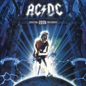 AC/DC - AC/DC 2019 Calender in the group OTHER / Merch Calenders at Bengans Skivbutik AB (3586669)
