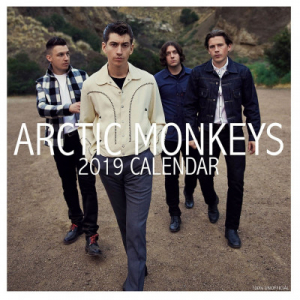 Arctic  Monkeys - 2019 Calender in the group OTHER / Merch Calenders at Bengans Skivbutik AB (3586670)