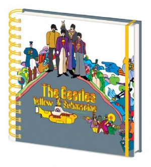 Beatles - Beatles (Yellow Submarine) Square Notebook CDU 10 in the group OTHER / Merchandise at Bengans Skivbutik AB (3587741)