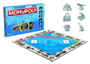 Friends - Friends Monopoly in the group OTHER / Merch Monopoly at Bengans Skivbutik AB (3587776)