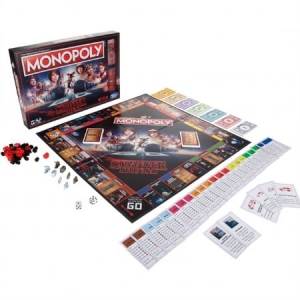 Stranger Things - Stranger Things - Monopoly in the group OTHER / Merch Monopoly And Puzzle at Bengans Skivbutik AB (3587777)