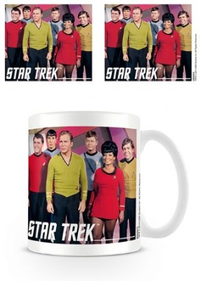 Star trek - Star Trek (Cast) Mug in the group OTHER / Merch Mugs at Bengans Skivbutik AB (3587912)