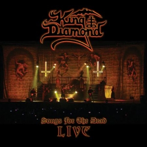 King Diamond - Songs From The Dead Live (2LP Ltd Bengans Clear Ash Grey Marbled) in the group Minishops / King Diamond at Bengans Skivbutik AB (3590007)