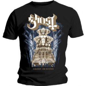 Ghost - GHOST MEN'S TEE: CEREMONY & DEVOTION in the group MERCHANDISE /  at Bengans Skivbutik AB (3595960)