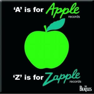 The beatles - THE BEATLES FRIDGE MAGNET: A IS FOR APPLE in the group OTHER / Merch Magnets at Bengans Skivbutik AB (3596060)