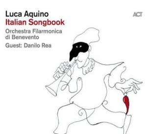 Aquino Luca - Italian Songbook in the group CD / Jazz/Blues at Bengans Skivbutik AB (3596605)