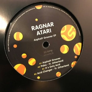 Ragnar Atari - Asphalt Groover EP in the group OTHER / Bengans Distribution News at Bengans Skivbutik AB (3606675)