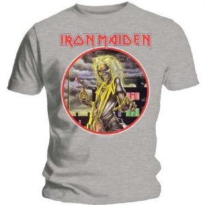 Iron Maiden - Iron Maiden Men's Tee: Killers Circle in the group OTHER / Merchandise at Bengans Skivbutik AB (3619709)