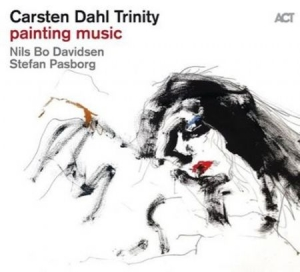 Carsten Dahl Trinity - Painting Music in the group CD / Jazz/Blues at Bengans Skivbutik AB (3623322)