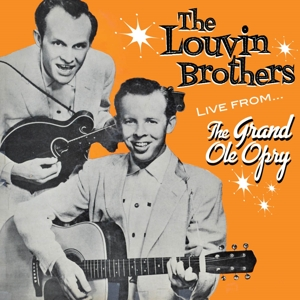 Louvin Brothers - Live From the Grand Ole Opry in the group Campaigns / Weekly Releases / Week 13 / CD Week 13 / COUNTRY at Bengans Skivbutik AB (3645994)