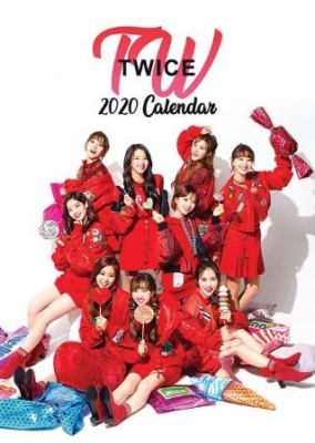 Twice - TWICE 2020 Unofficial Calendar in the group Campaigns / K Pop at Bengans Skivbutik AB (3649686)