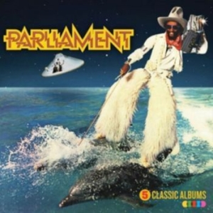 Parliament - 5 Classic Albums [import] in the group CD / RNB, Disco & Soul at Bengans Skivbutik AB (3650226)
