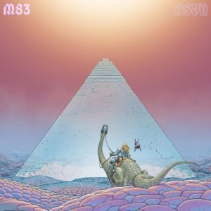 M83 - Dsvii (Pink Vinyl) in the group VINYL / Upcoming releases / Dance/Techno at Bengans Skivbutik AB (3650503)