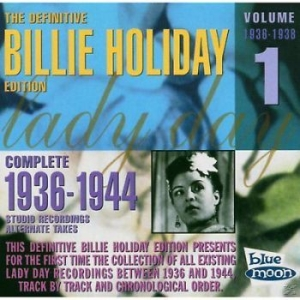 Holiday Billie - Complete Alternates/ Vol.1 (1936-38 in the group CD / Jazz/Blues at Bengans Skivbutik AB (3650759)