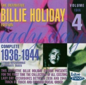 Holiday Billie - Complete Alternates/ Vol 4 (1944) in the group CD / Jazz/Blues at Bengans Skivbutik AB (3650761)