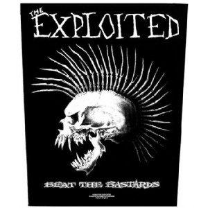 Exploited - Beat the Bastards - Back Patch in the group OTHER / Merch Patch at Bengans Skivbutik AB (3655637)